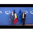 Întrevederea premierului Florin Cîțu cu Adina Vălean, comisar european pentru transporturi